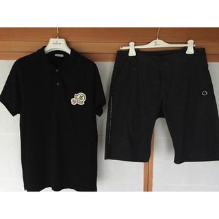 モンクレール(MONCLER)のモンクレール ポロシャツ&パンツ セット サイズM 美品(ポロシャツ)