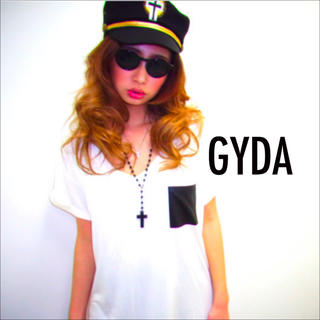 GYDA - GYDA ポリスハット 帽子 キャップ 小物 クロス 十字架♡ダイヤ SLY