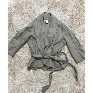 ザラ(ZARA)のザラ ジャケット(ノーカラージャケット)