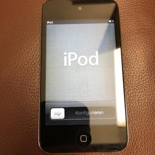 アイポッドタッチ(iPod touch)のiPod touch 第4世代 8GB ブラック(タブレット)