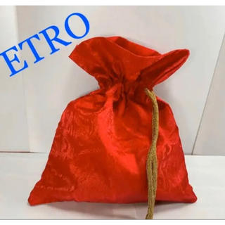 ETRO - エトロ ペイズリー 巾着バッグ ポーチ