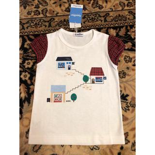 familiar - ファミリア 半袖ティシャツ