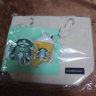 スターバックスコーヒー(Starbucks Coffee)のスターバックス  保冷トート&オリジナル保冷剤 2018(弁当用品)