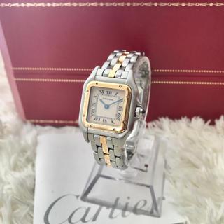 Cartier - 美品✨ カルティエ SM Cartier パンテール K18YG コンビ 腕時計