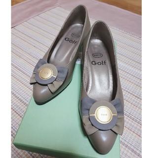 Golf 21cm 靴(ハイヒール/パンプス)