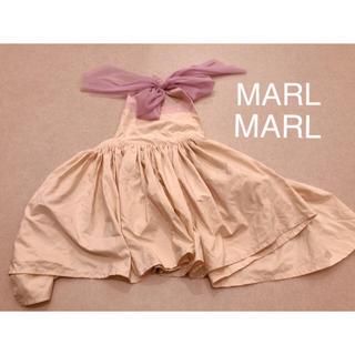 MarlMarl エプロンドレス