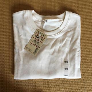 ムジルシリョウヒン(MUJI (無印良品))の無印 キッズ 七分袖Tシャツ(Tシャツ/カットソー)