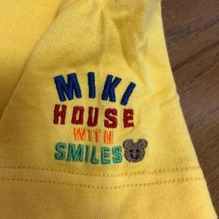 mikihouse - ミキハウス★肩ロゴTシャツ^_^ 90㎝