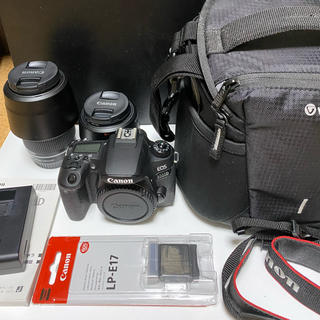 Canon - Canon EOS 9000D Wズームキット