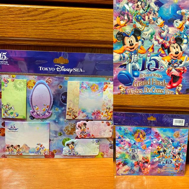 Disney(ディズニー)のTDS⭐️15周年⭐️ふせんセット❣️ディズニー⭐️クリスタルウィッシュ⭐️ エンタメ/ホビーのおもちゃ/ぬいぐるみ(キャラクターグッズ)の商品写真
