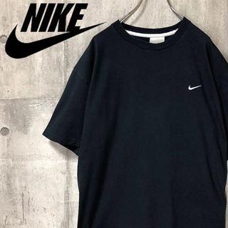 ナイキ(NIKE)のナイキ NIKE 半袖Tシャツ 刺繍ロゴ ビッグシルエット ゆるダボ 黒 XL(スウェット)