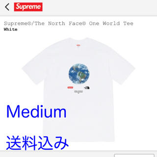 Supreme - Supreme TNF One World Tee White Medium