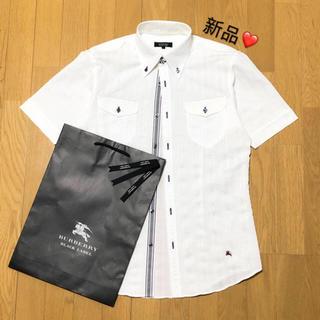 BURBERRY - 新品 バーバリーブラックレーベル 半袖シャツ2