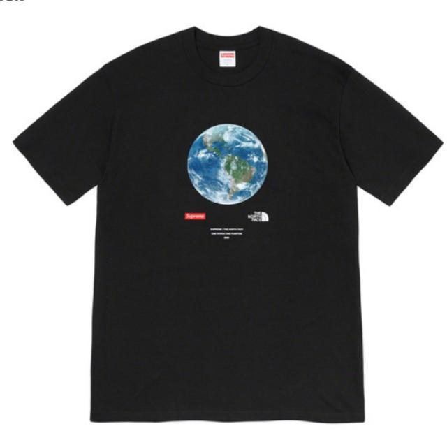 Supreme(シュプリーム)の【M】Supreme®/The North Face® One World メンズのトップス(Tシャツ/カットソー(半袖/袖なし))の商品写真