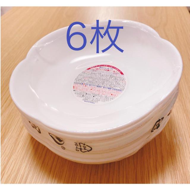 山崎製パン(ヤマザキセイパン)のヤマザキ 春のパンまつり お皿6枚 2020年 インテリア/住まい/日用品のキッチン/食器(食器)の商品写真