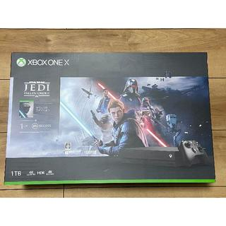 エックスボックス(Xbox)の【24時間以内発送】Xbox One X(Star Wars ジェダイ同梱版)(家庭用ゲーム機本体)