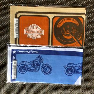 ハーレーダビッドソン(Harley Davidson)の新品 ハーレーダビットソン バンダナ 2枚セット(バンダナ/スカーフ)