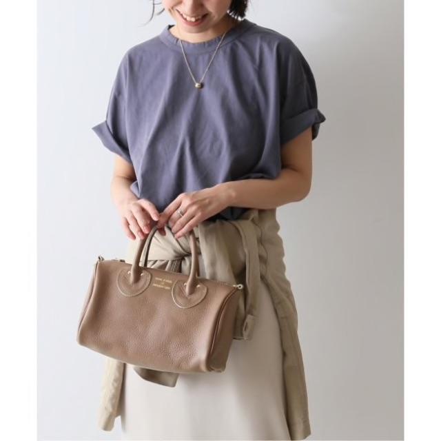 FRAMeWORK(フレームワーク)の【YOUNG&OLSEN】別注ミニボストン ストラップ付き レディースのバッグ(ショルダーバッグ)の商品写真