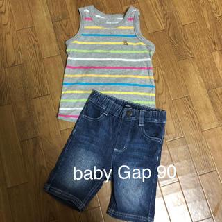 ベビーギャップ(babyGAP)のタンクトップ & ハーフパンツ セット(パンツ/スパッツ)