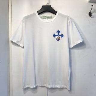 オフホワイト(OFF-WHITE)のOFF-WHITE Tシャツ ホワイト(Tシャツ/カットソー(半袖/袖なし))