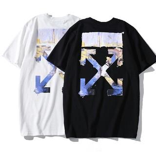 オフホワイト(OFF-WHITE)の本日値下げ off-white Tシャツ 2枚  OW01-A1(Tシャツ/カットソー(半袖/袖なし))