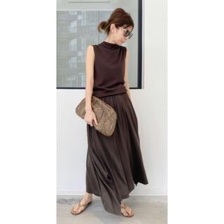 L'Appartement DEUXIEME CLASSE - L'Appartement Jersey Gather Skirt スカート38