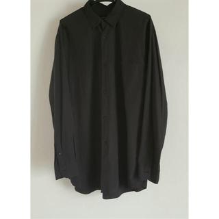 COMOLI - 希少 comoli シャツ 19ss ブラック