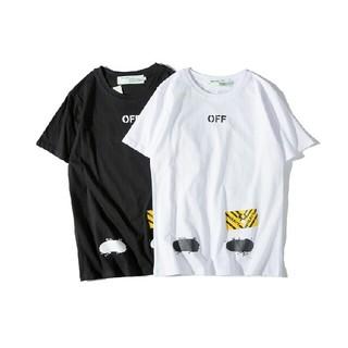 オフホワイト(OFF-WHITE)の本日値下げ off-white Tシャツ 2枚  OW01-K1(Tシャツ/カットソー(半袖/袖なし))