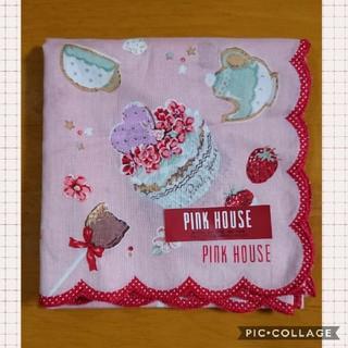 PINK HOUSE - スカラップハンカチ