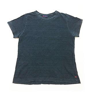 フォーティーファイブアールピーエム(45rpm)の45rpm アールピーエム インディゴ Tシャツ 半袖 日本製 シンプル 最安値(Tシャツ(半袖/袖なし))