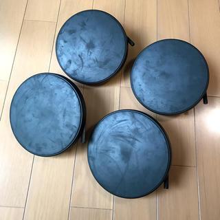 ドラムパッド 4個 MEDELI メデリ 電子ドラム DD402KII の付属品(電子ドラム)