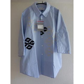 kiko kostadinov ストライプシャツ