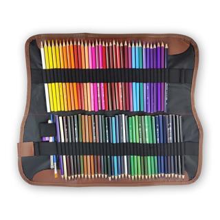 水彩 色鉛筆 72色 ケース 付属品付き 水性(色鉛筆)
