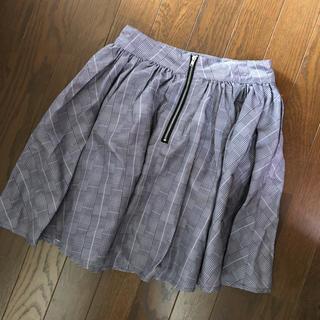 ダズリン(dazzlin)のダズリン チェックスカート(ひざ丈スカート)