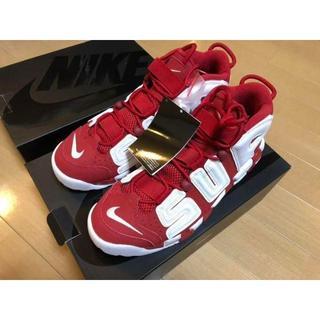 NIKE - 27.5cm Supreme Nike Air More Uptempo