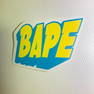 アベイシングエイプ(A BATHING APE)のアベイシングエイプ BAPE ステッカー ストリート 防水(ステッカー)