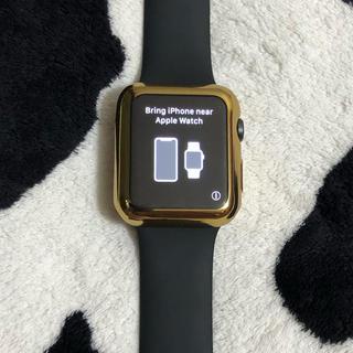 アップルウォッチ(Apple Watch)のApple Watch series3 space Gray 42mm(腕時計(デジタル))