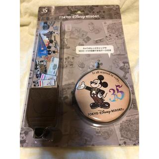 ディズニー(Disney)の東京ディズニーリゾート 35周年 カメラストラップ(ネックストラップ)