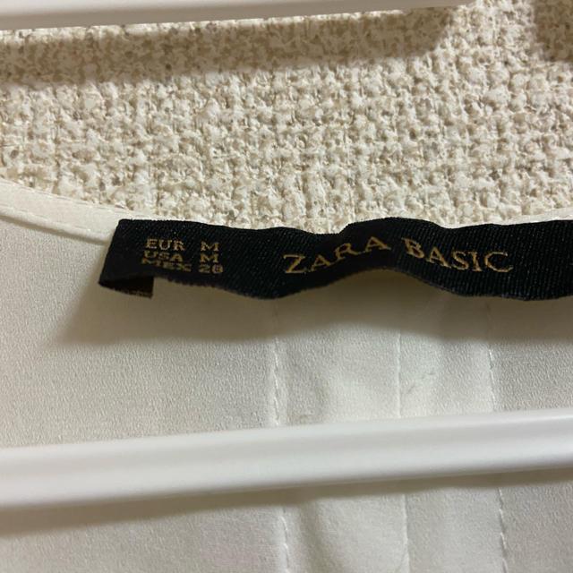 ZARA(ザラ)のお値下げしました!ザラ ベーシック トップス レディースのトップス(シャツ/ブラウス(長袖/七分))の商品写真