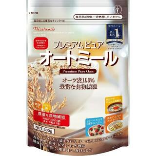 日本食品 プレミアムピュアオートミール 300g(米/穀物)