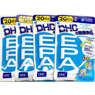 ディーエイチシー(DHC)のDHC EPA 20日分×4袋セット(ダイエット食品)