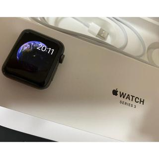 アップルウォッチ(Apple Watch)のアップルウォッチ シリーズ3(腕時計(デジタル))