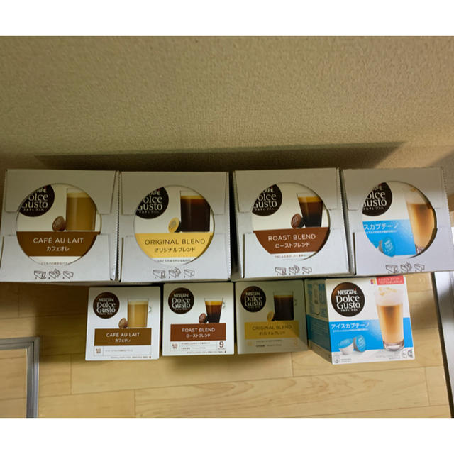 Nestle(ネスレ)のネスレドルチェ カプセル 17箱 食品/飲料/酒の飲料(コーヒー)の商品写真