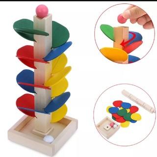 木製 モンテッソーリ 玉おとし おもちゃ 知育玩具 子ども 教育