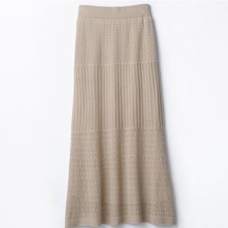 シマムラ(しまむら)のぷちぷらのあや 鍵編み ロングスカート(ロングスカート)