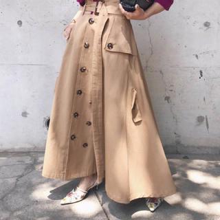 Ameri VINTAGE - Ameri vintage trench like skirt スカート