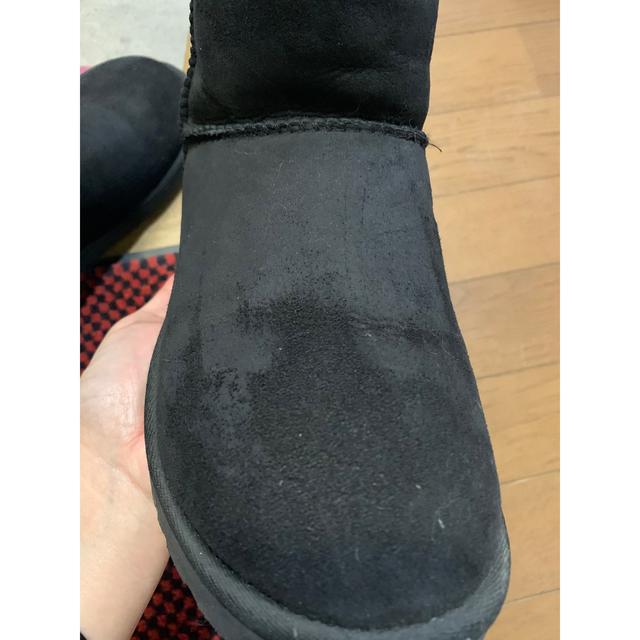 UGG(アグ)の値下げ!UGG ムートン ブラック レディースの靴/シューズ(ブーツ)の商品写真