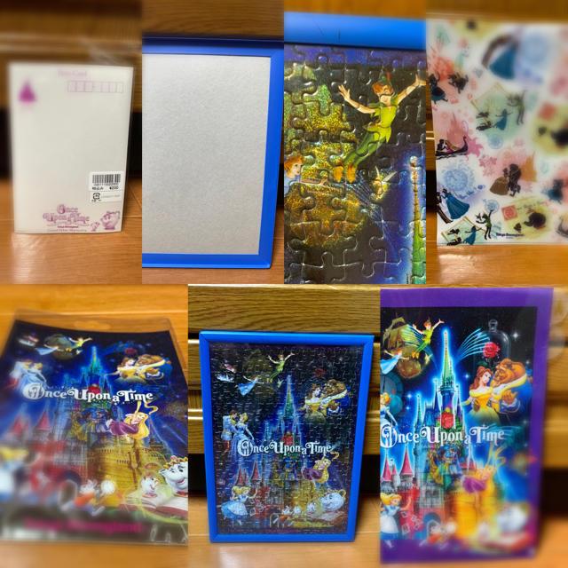 Disney(ディズニー)のTDL⭐️ワンスアポンアタイム⭐️ジグソーパズル&ファイル&カード❣️ エンタメ/ホビーのおもちゃ/ぬいぐるみ(キャラクターグッズ)の商品写真