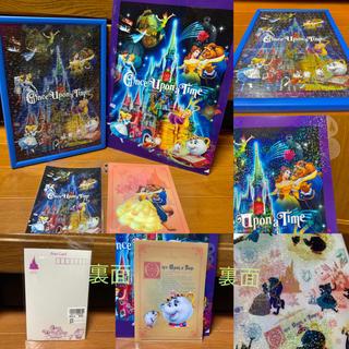 Disney - TDL⭐️ワンスアポンアタイム⭐️ジグソーパズル&ファイル&カード❣️