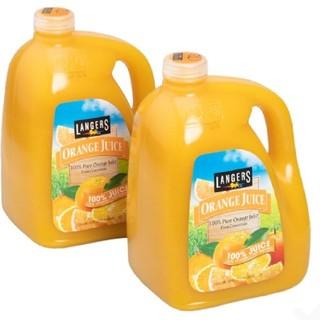 コストコ(コストコ)のコストコ ランガース オレンジジュース 3.78L x 2(ソフトドリンク)